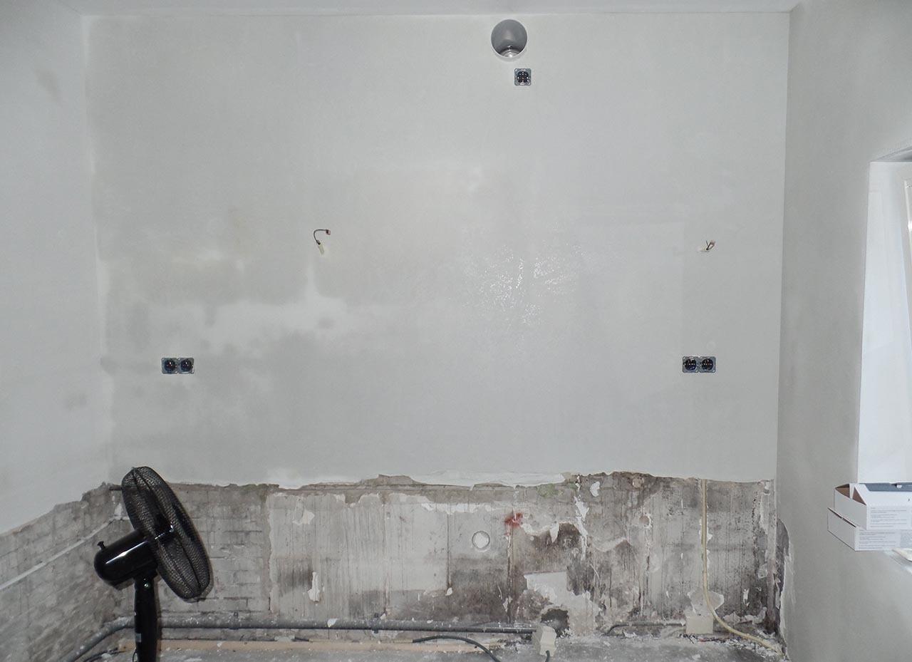 RemmerswaalBouw Aannemersbedrijf - Projecten - Keuken voorbereiding Leidschendam foto 1