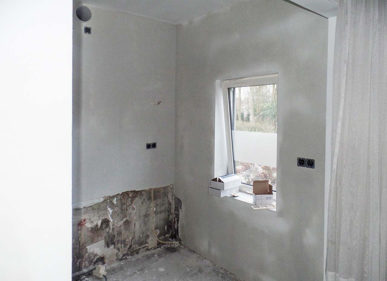RemmerswaalBouw Aannemersbedrijf - Projecten - Keuken voorbereiding Leidschendam foto 2