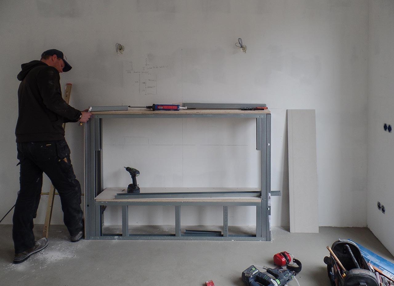 RemmerswaalBouw Aannemersbedrijf - Projecten - Sfeerhaard met schout in Den Haag foto 1